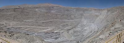 Chuquicamata: plus grande mine de cuivre au monde
