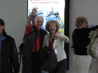 Arrivée de Lédine et Yves