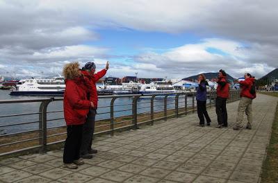 Le grand départ pour l'Antarctique