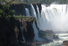 Où sont passées les chutes d'Iguazú?