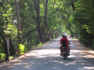Balade à moto à Mandalay