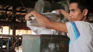 Fabrique de vermicelles de riz