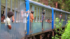 Train panoramique au Sri Lanka