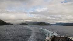Île du Nord nuageuse