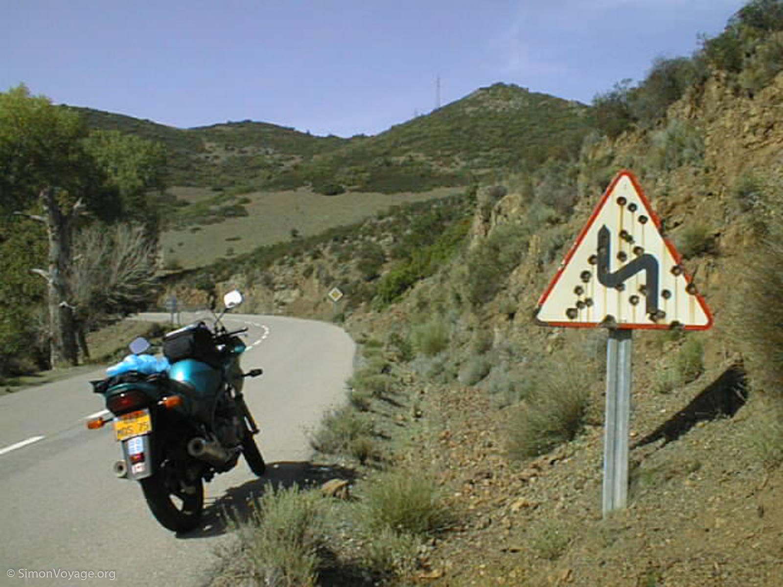 Tour de la Corse à moto